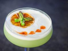 Green Pisco Sour