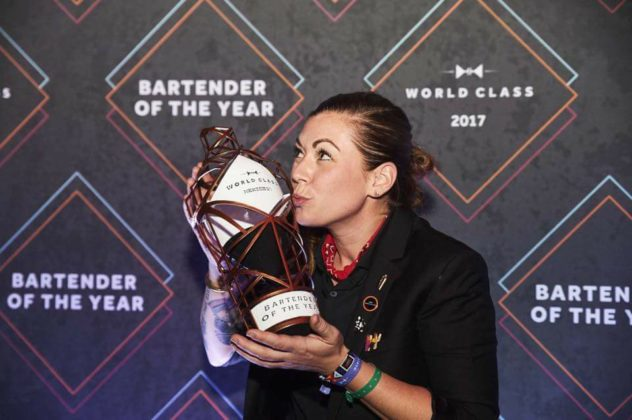 World Class Bartender of the Year 2017 - Kaitlyn Stewart