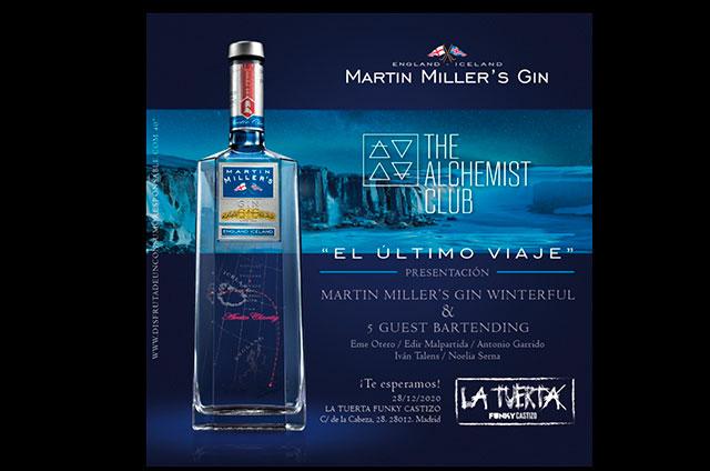 Martin Miller`s Gin. The Alchemist Club